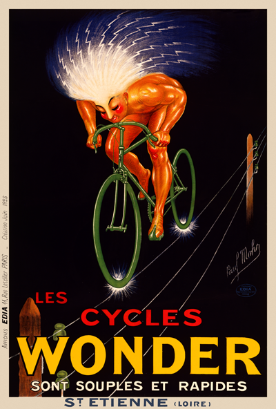 Cycles Wonder Poster. - MOLTENI CYCLING