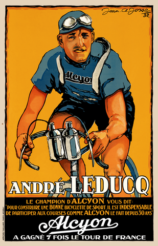 Andre Leducq - Alcyon Poster