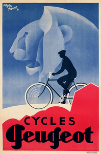 Cycles Peugeot Poster - MOLTENI CYCLING