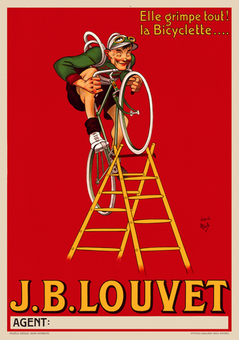 J.B. Louvet Poster (Personalize it! Add your name, segment, and time)