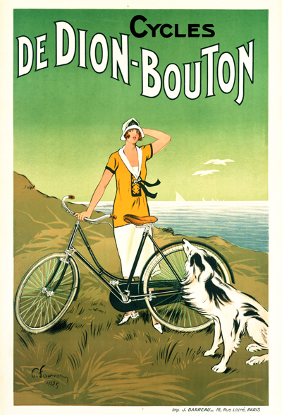 Cycles de Dion-Bouton Poster - MOLTENI CYCLING
