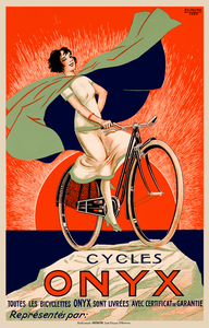 Cycles Onyx Poster - MOLTENI CYCLING