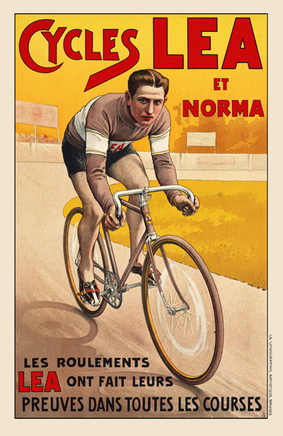 Cycles LEA Poster - MOLTENI CYCLING