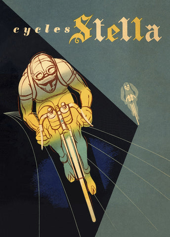 Cycles Stella Bicycle Poster