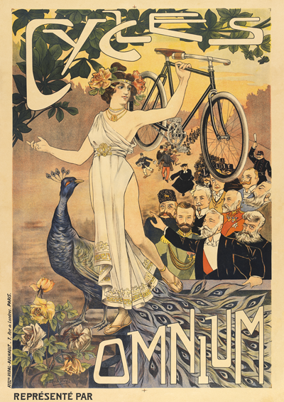 Cycles Omnium Poster - MOLTENI CYCLING