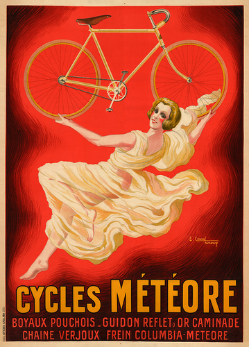 Cycles Meteore Bicycle Poster - MOLTENI CYCLING