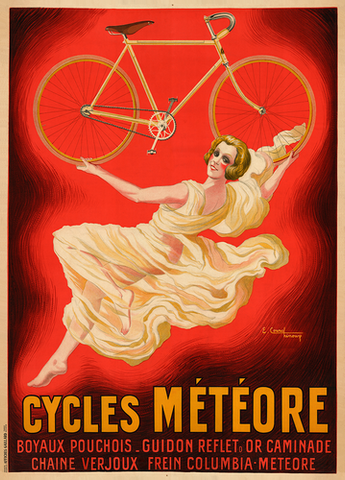 Cycles Meteore Bicycle Poster