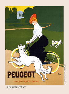Peugeot Vintage Poster - MOLTENI CYCLING