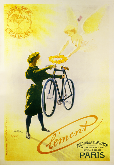 Clement Paris Poster - MOLTENI CYCLING