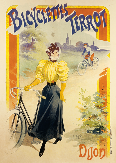 Bicyclettes Terrot Poster - MOLTENI CYCLING
