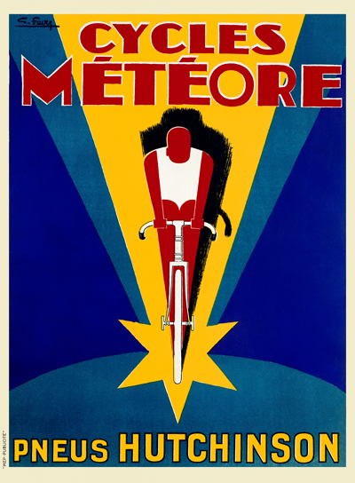 Cycles Meteore Poster. - MOLTENI CYCLING