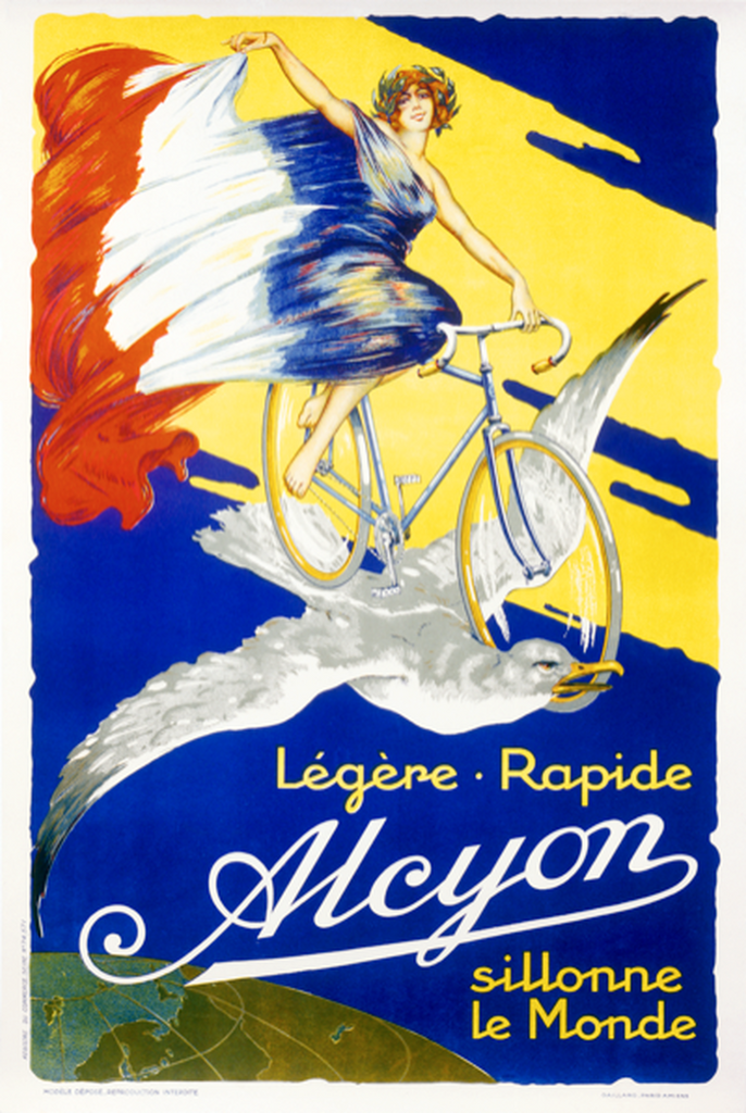 Alcyon - Bordeaux-Paris Poster - MOLTENI CYCLING
