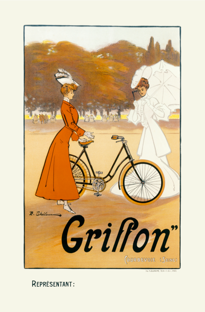 Cycles Griffon I Poster - MOLTENI CYCLING