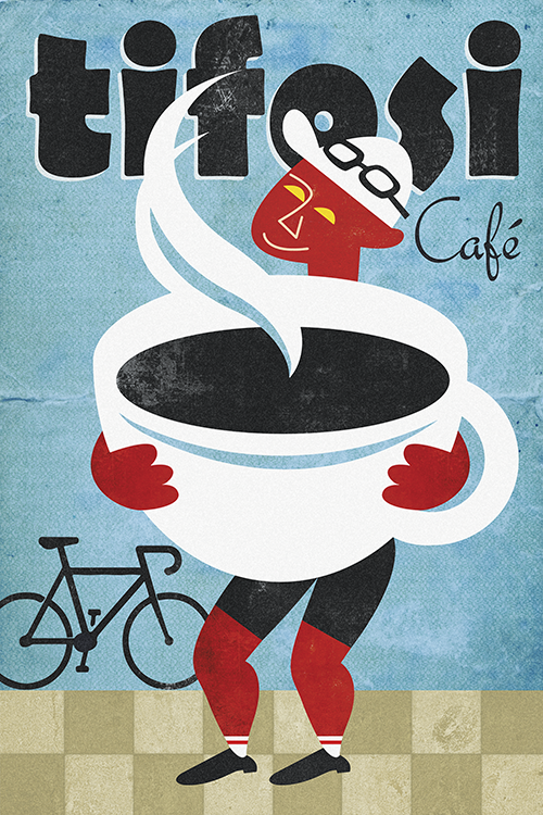 Tifosi Cafe Print - MOLTENI CYCLING