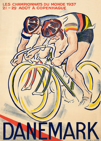 1937 World Championships Poster