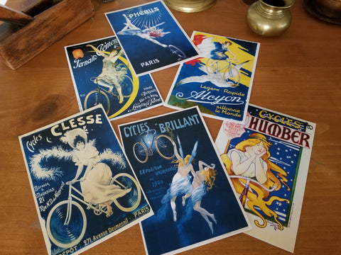 VINTAGE POSTCARDS - MOLTENI CYCLING