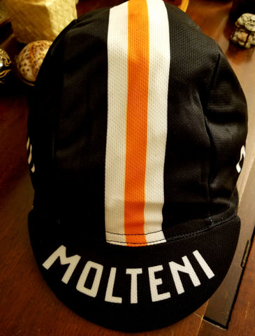Dark Molteni Vintage Cycling Cap - MOLTENI CYCLING