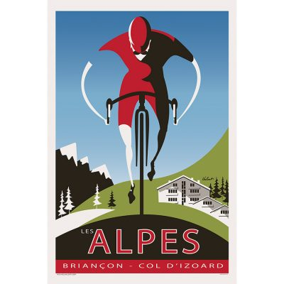 The Alpes Art Print