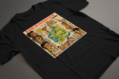 TOUR DE FRANCE 1978 CLASSIC T-SHIRT