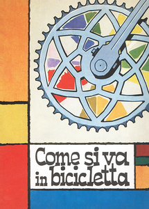 Bicycletta Poster - MOLTENI CYCLING