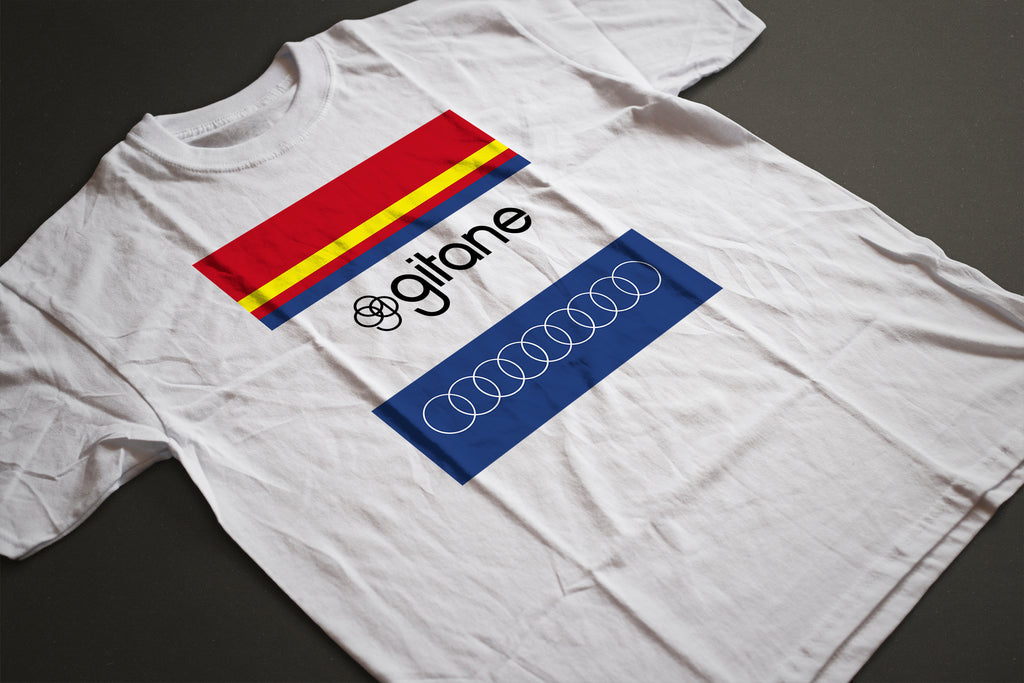 CLASSIC GITANE TEAM T-SHIRT - MOLTENI CYCLING