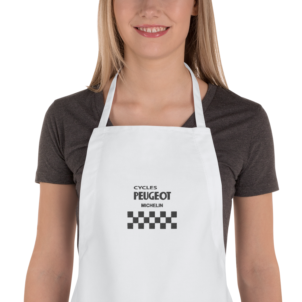 Cycles Peugeot Embroidered Apron - MOLTENI CYCLING
