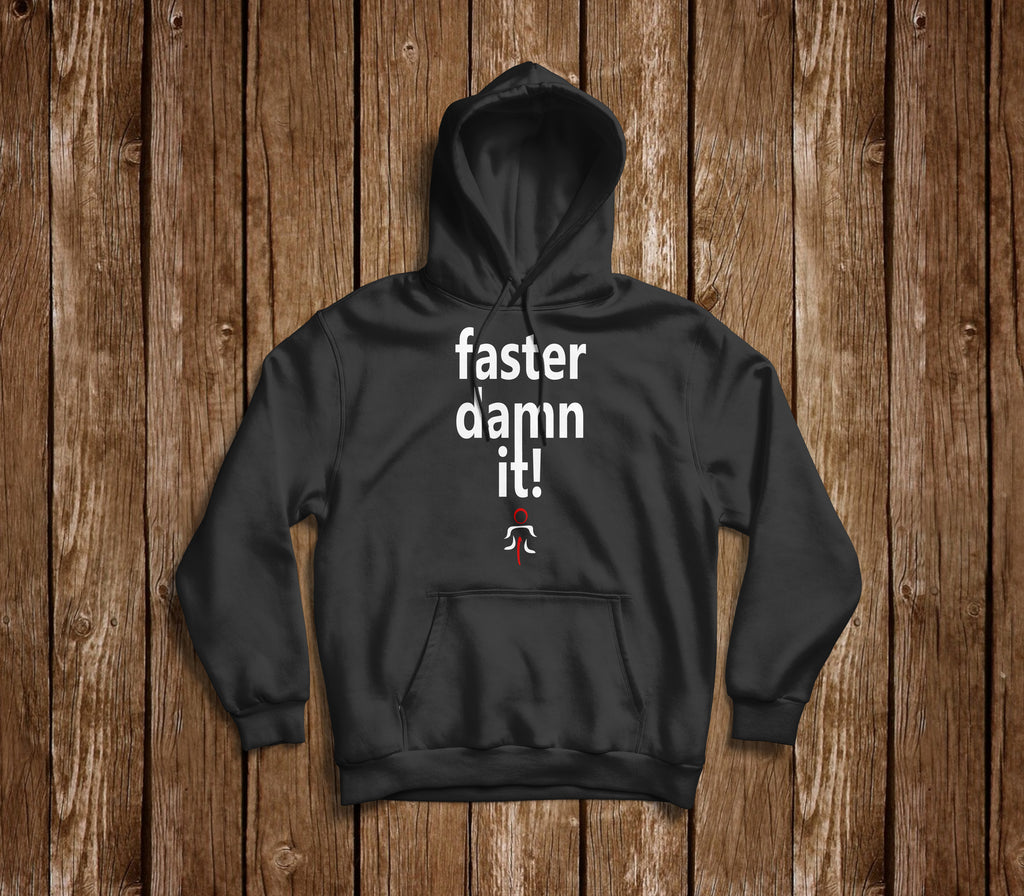 FASTER DAMN IT HOODIE - MOLTENI CYCLING