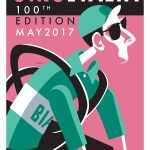 Giro d'Italia 100th Edition Art Print - MOLTENI CYCLING