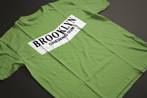 GREEN BROOKLYN CLASSIC T-SHIRT