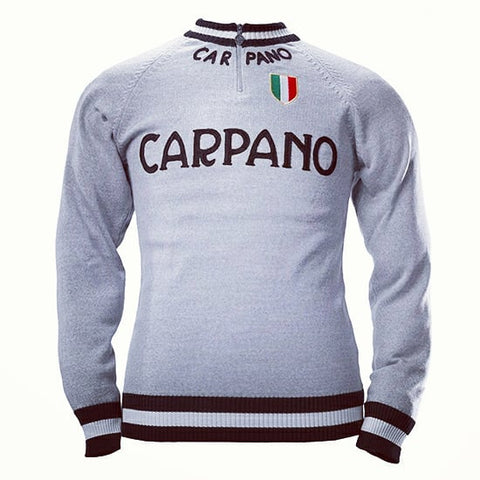 Carpano Merino Wool track top - MOLTENI CYCLING