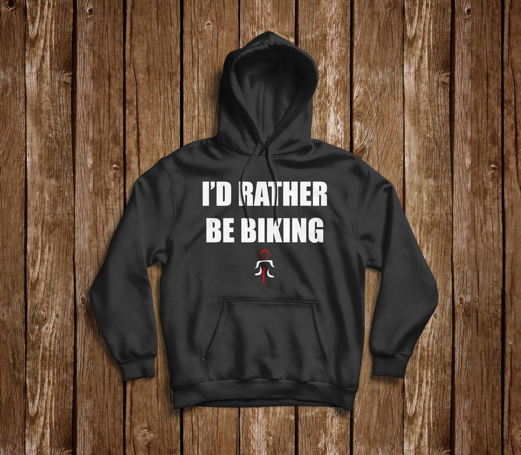I'D RATHER BE BIKING HOODIE - MOLTENI CYCLING