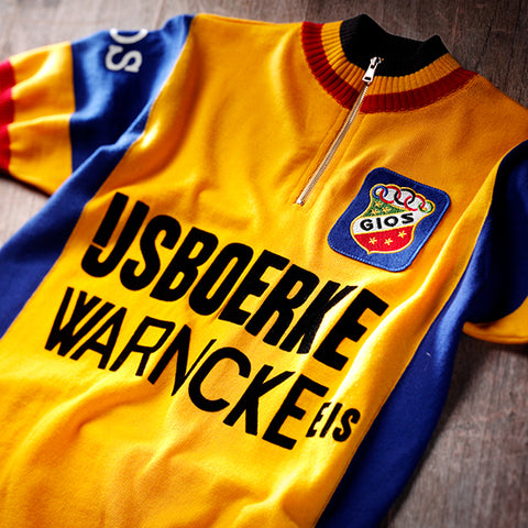 IJsboerke 1979 Team Short Sleeve  Vintage Jersey - MOLTENI CYCLING