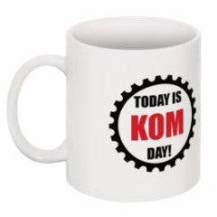 KOM Day Cycling Mug!