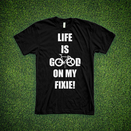 Life is good on my fixie. - MOLTENI CYCLING