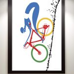 MTB Downhiller Art Print - MOLTENI CYCLING
