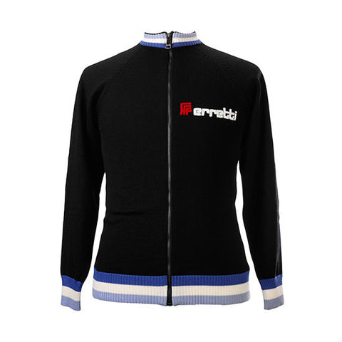 Ferretti Merino Wool Track Top - MOLTENI CYCLING