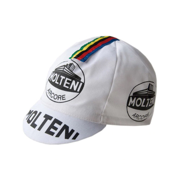 Molteni World Champ Vintage Cycling Cap - MOLTENI CYCLING
