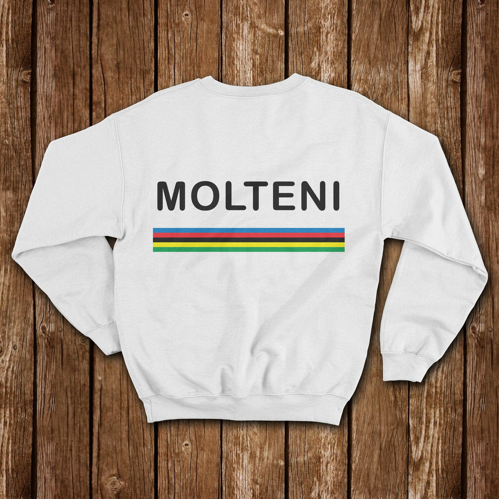 MOLTENI WORLD CHAMPION CLASSIC SWEATSHIRT - MOLTENI CYCLING