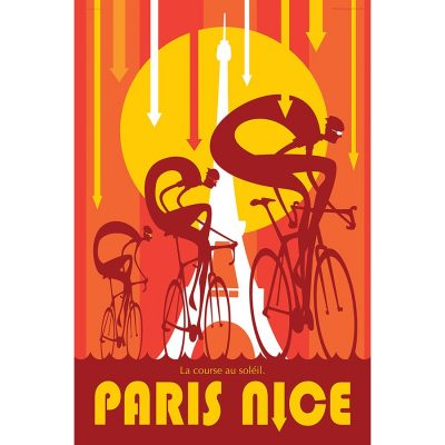 Paris Nice-Race to the Sun Art Print - MOLTENI CYCLING