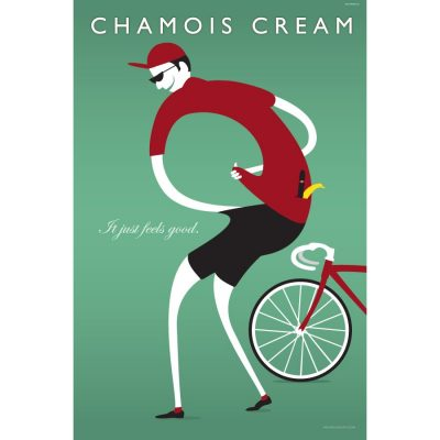 Chamois Cream Art Print - MOLTENI CYCLING