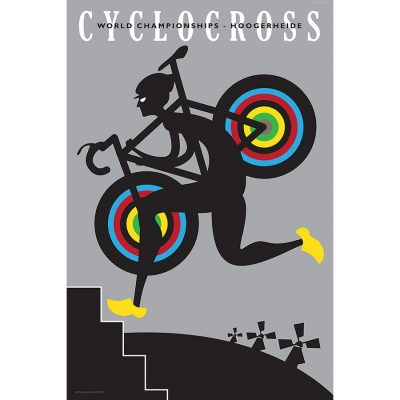 CX Hoogerheide Art Print - MOLTENI CYCLING