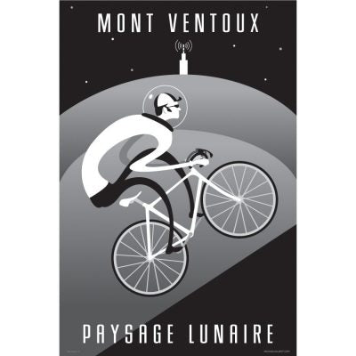 Ventoux Moonscape Art Print