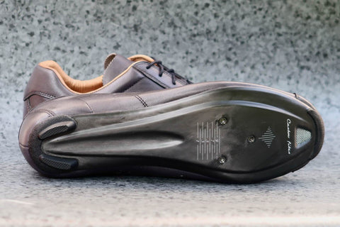 Race Carbon Titanio - Grey/Tan Leather Shoes