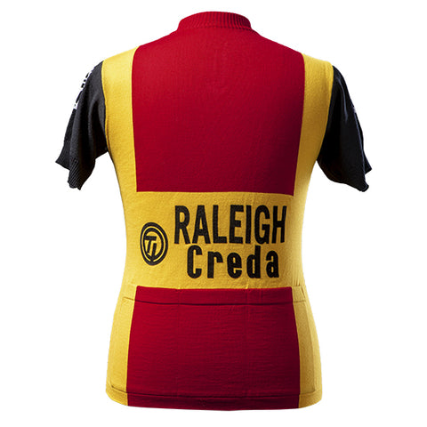 Raleigh Creda Team 1980 Short Sleeve Vintage Jersey