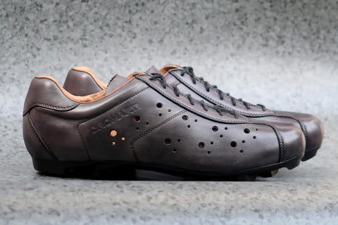 Sportivo Touring Titanio - Grey/Tan Leather Shoe