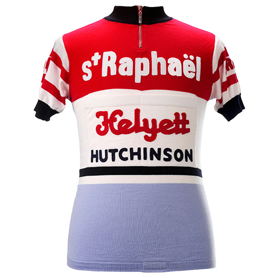 Saint Raphael Team 1962 Short Sleeve Vintage Jersey - MOLTENI CYCLING