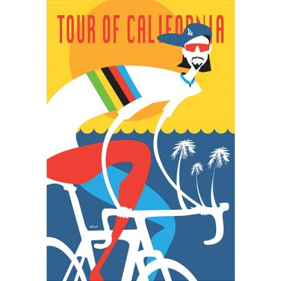 Tour of California Peter Sagan Art Print