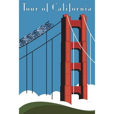 Tour of California Art Print