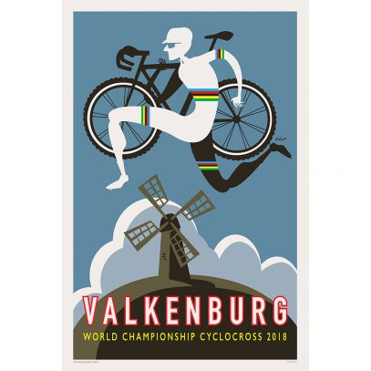 Valkenburg CX Art Print - MOLTENI CYCLING