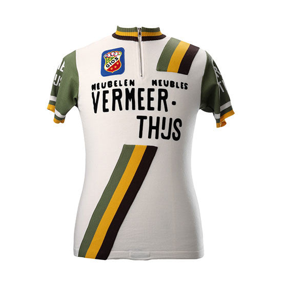Vermeer-Thijs Team 1981 Short Sleeve Vintage Jersey - MOLTENI CYCLING